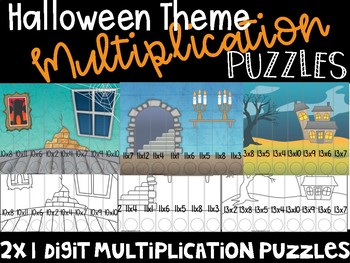 Halloween Multiplication Puzzle