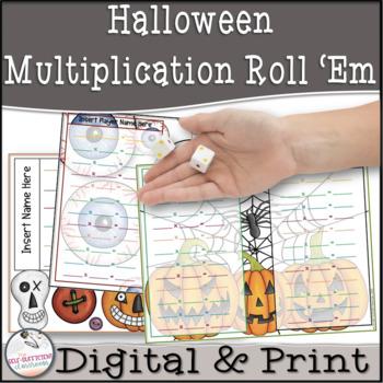 Halloween Multiplication Roll 'Em