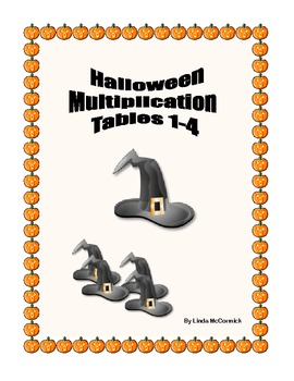 Halloween Multiplication Tables 1-4