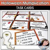Halloween Go Math Chapter 2 4th Grade Task Cards