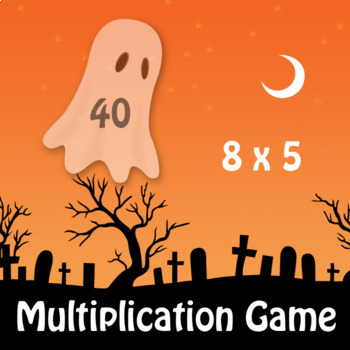 Halloween Multiplication Game for the whole Classroom