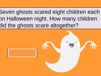 Halloween Multiplication Word Problem Powerpoint