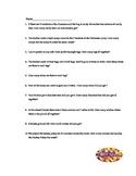 Halloween Multiplication Word Problems 3rd grade
