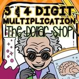 Halloween Multiplication Worksheet