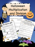 Halloween Multiplication and Division Activities