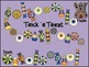 Hallowe'en Multiplication and Division Board Games