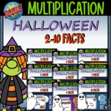 Halloween Multiplication and Division Boom Cards™ Bundle