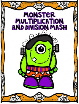 Halloween Multiplication and Division Game