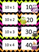 Halloween Multiplication facts (8 - 12)  Concentration & W