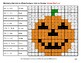Halloween: Multiplying Decimals by Whole Numbers - Math Mystery Pictures