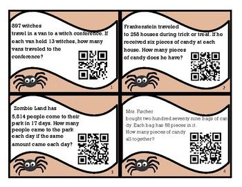 Halloween Multiplying / Dividing QR Codes
