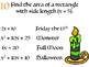Halloween Multiplying Binomials Silly Story