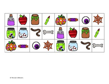 Halloween Multiplying and Dividing by 2 Games