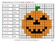 Halloween: Multiplying by Multiples of 10, 100, 1000 - Math Mystery Pictures