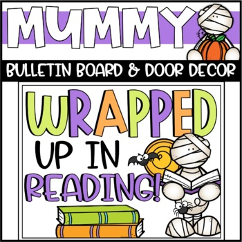 Halloween Mummies Bulletin Board or Door Decoration