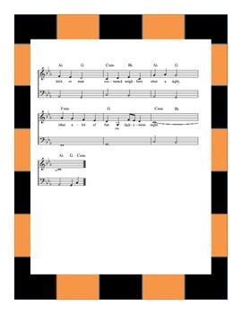 Halloween Music- Little Pumpkin Sheet Music