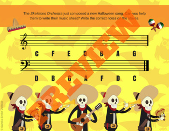 Halloween Music Activities - Music Theory