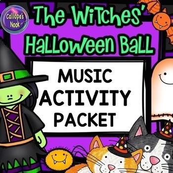 Halloween Music Activities Worksheets
