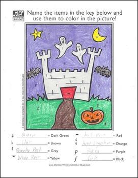 Halloween Music Activity Packet