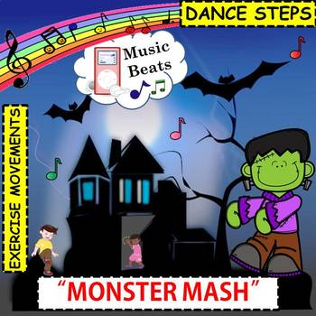 """Halloween Music Beats: Dance Steps & Exercise Movements to """"The Monster Mash"""""""