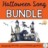 Halloween Music Bundle of Songs, Activities, Actions, Musi