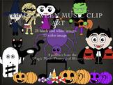Halloween Music Clip Art
