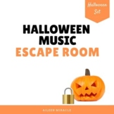 Halloween Music Escape Room