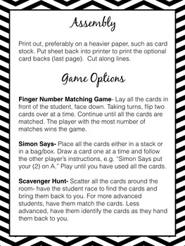 Halloween Music Game: Piano Finger Numbers