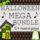 Halloween Music Games Mega Bundle- 10+ Games and Activities!