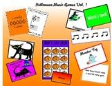 Halloween Music Games Vol. 1