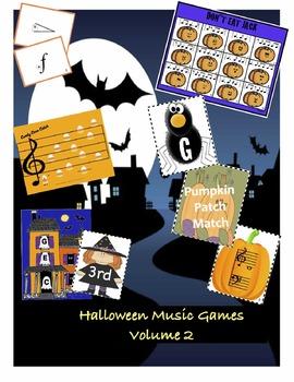 Halloween Music Games Vol.2