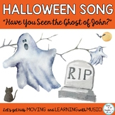 """Halloween Music """"Have You Seen the Ghost of John?"""" Song, A"""