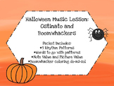 Halloween Music Lesson: Ostinato & Boomwhackers
