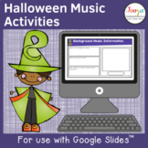 Halloween Music Listening Activities- Set 2