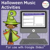 Halloween Music Listening Activities- Set 2