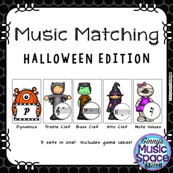 Halloween Music Matching