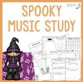 Halloween Music Study