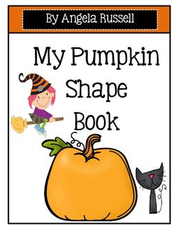Halloween ~ My Pumpkin Shape Book