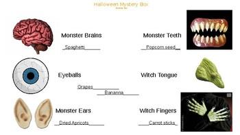 Halloween Mystery Box Editable