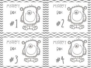 Halloween Mystery Boxes FREEBIE!!!!