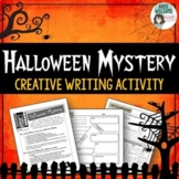Halloween Writing Activity - Write a Creative Mystery Story