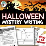 Halloween Writing Activity - Write a Creative Mystery Story