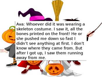 Halloween Mystery Critical Thinking Activity: The Candy Thief