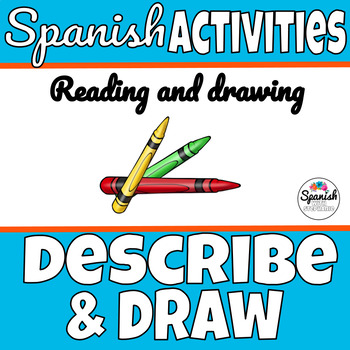 Halloween Mystery Drawing Activity (Spanish or English)