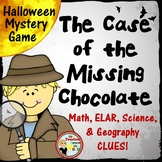 Halloween Mystery Game - ELAR, Math, Science, and Geography Activities!
