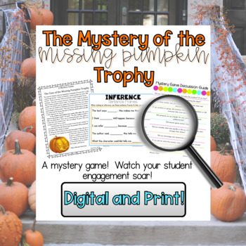 Halloween Mystery Game - Inferencing and Collaboration