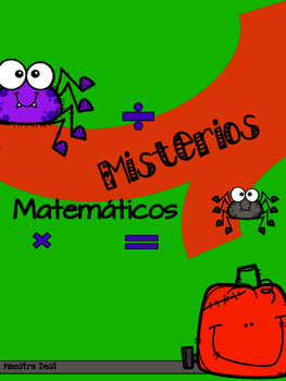 Halloween Mystery Math / Misterios Matemáticos