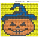 Halloween Mystery Picture Multi-Digit Addition and Subtraction