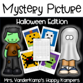 Halloween Mystery Picture (Number Recognition 1-100)