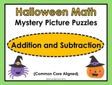 Halloween Mystery Picture Puzzles: Addition & Subtraction